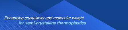 Enhancing Crystallinity and molecular weight for semi-crystalline thermoplastics